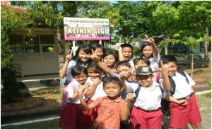 Kegiatan Praktek Mhs , murid -murid SD di bawa ke Kampus untuk Intervensi